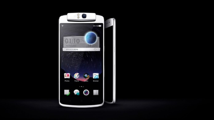 Oppo N1 parte frontal