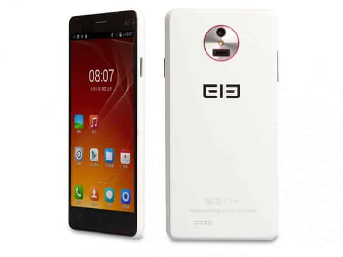 Elephone P3000S frontal y trasera