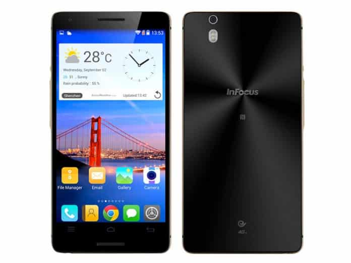 Infocus M810T Frontal y Trasera