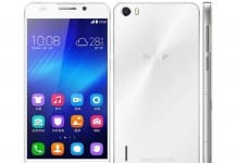 Huawei Honor 6 blanco