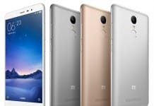 Xiaomi Redmi Note 3 colores
