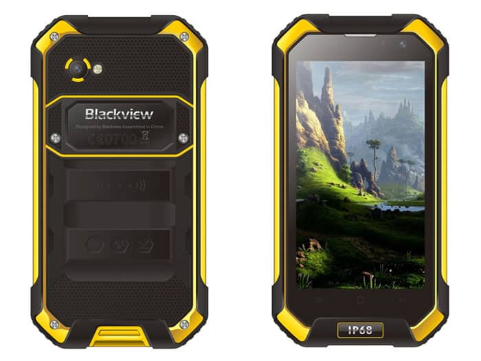 Blackview BV6000 amarillo