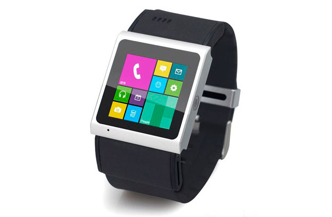 Goophone Smart Watch en negro