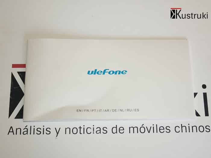 UleFone Be Touch 2 instrucciones