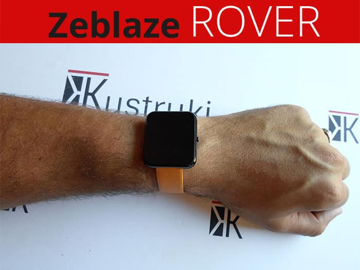 Zeblaze Rover Portada