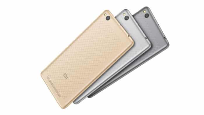 moviles chinos baratos Xiaomi Redmi 3