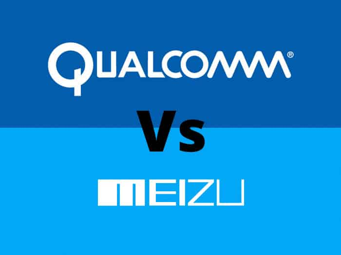 Qualcomm vs meizu